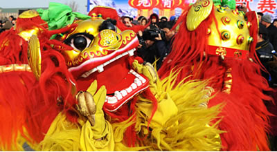 Cantonese lion dance
